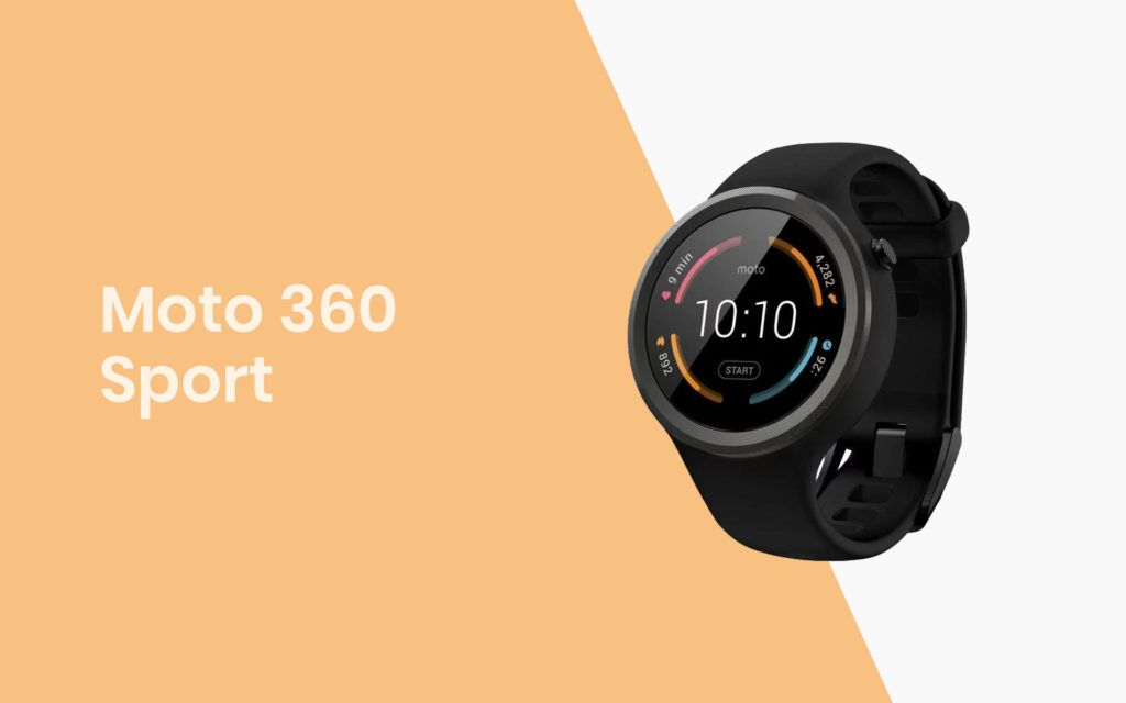 The Moto 360 Sport Smartwatch for Jogging and Fitness Enthusiasts