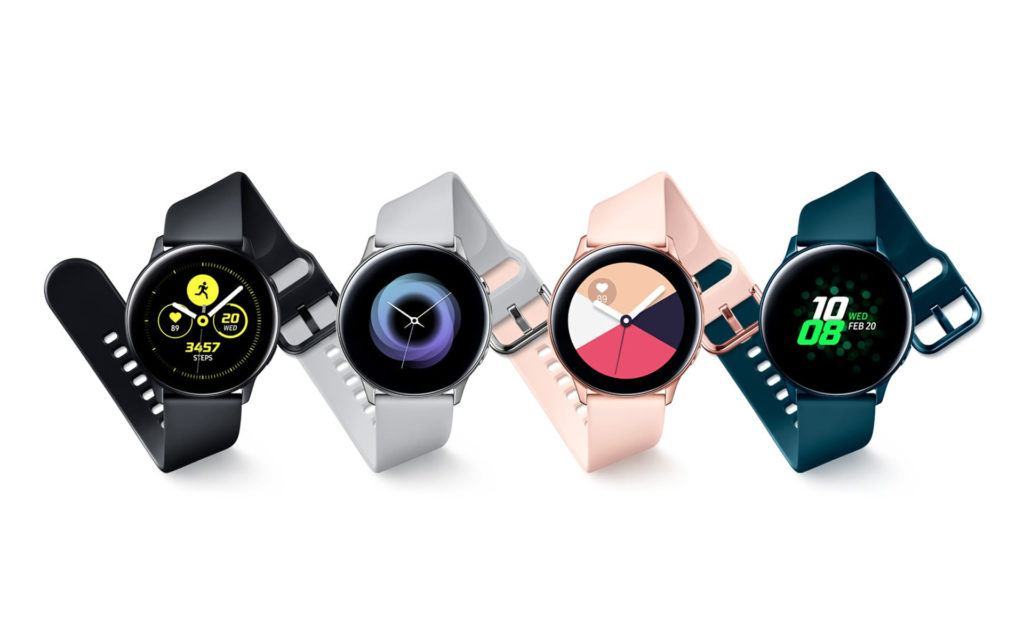 Samsung Announces Galaxy Watch Active