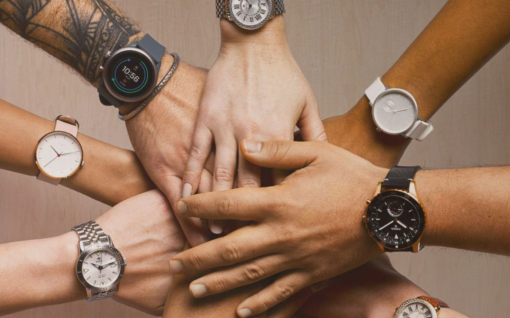 The Fossil Group Launches 40 New Smartwatches