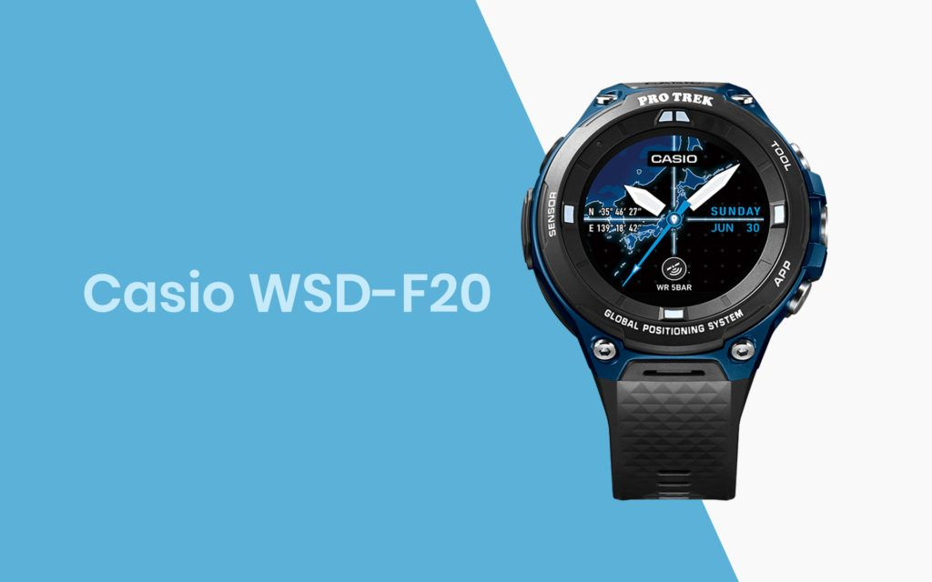 Casio Launches New WSD-F20 Smartwach