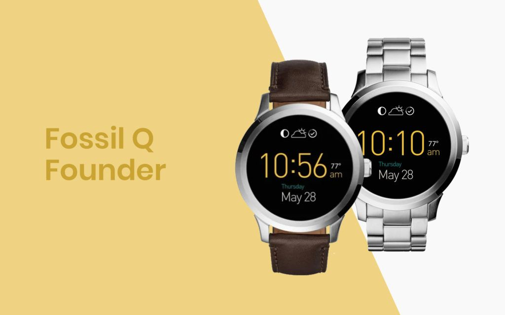 The Fossil Q Founder is an affordable, stylish smartwatch