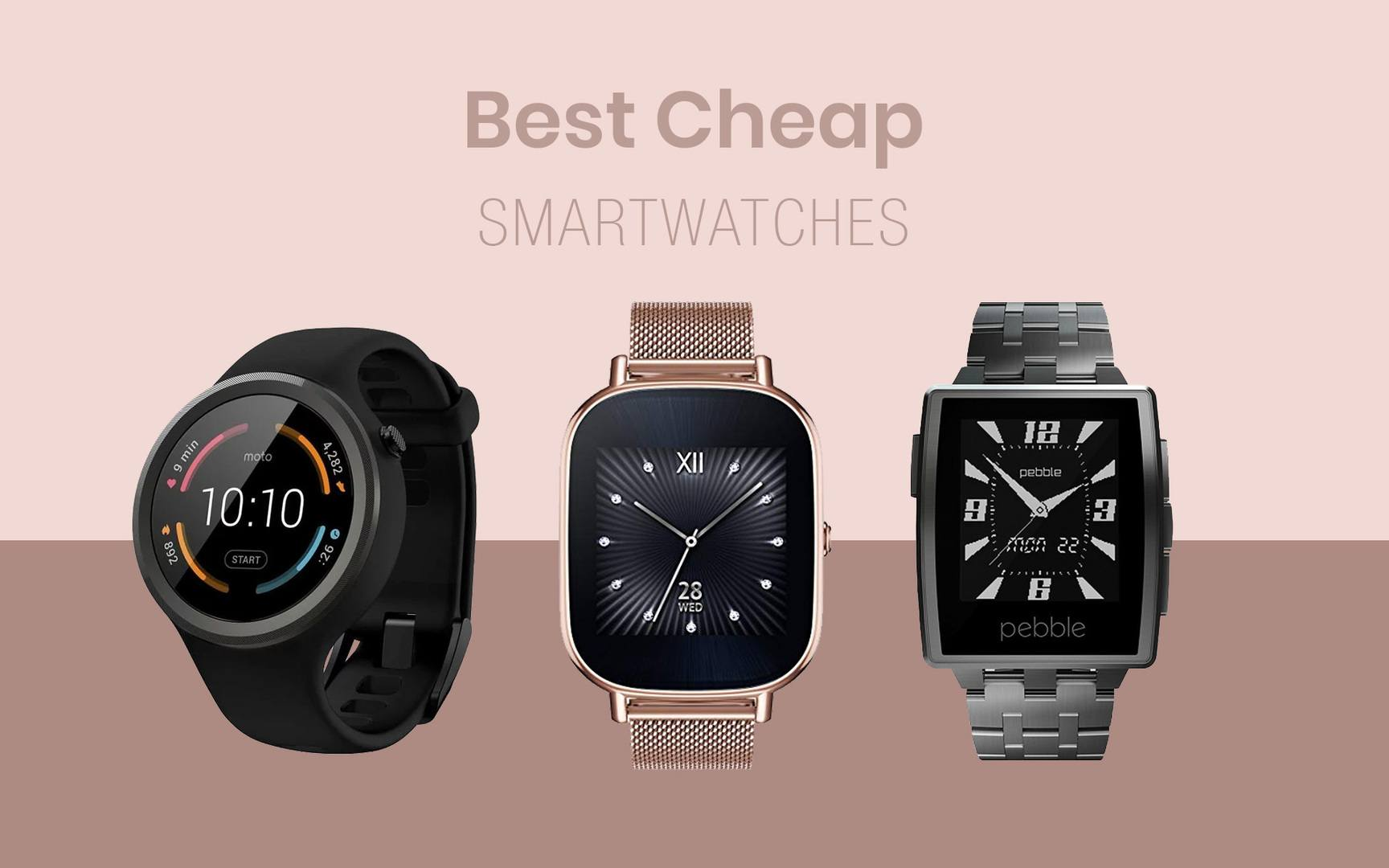The Best Cheap Smartwatches
