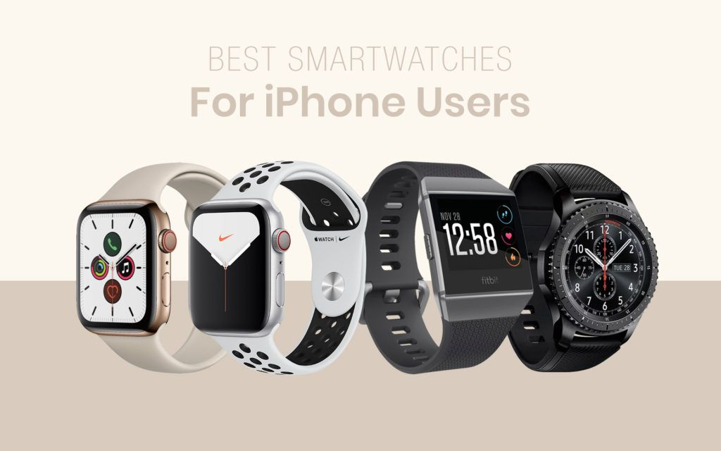 Best Smartwatches for iPhone Users