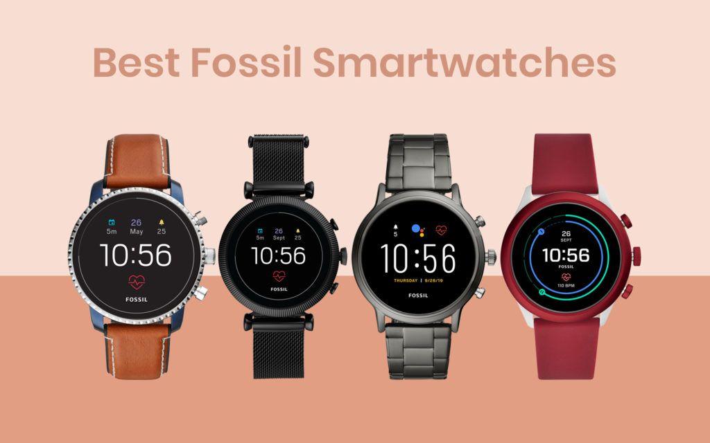 Best Fossil Smartwatches