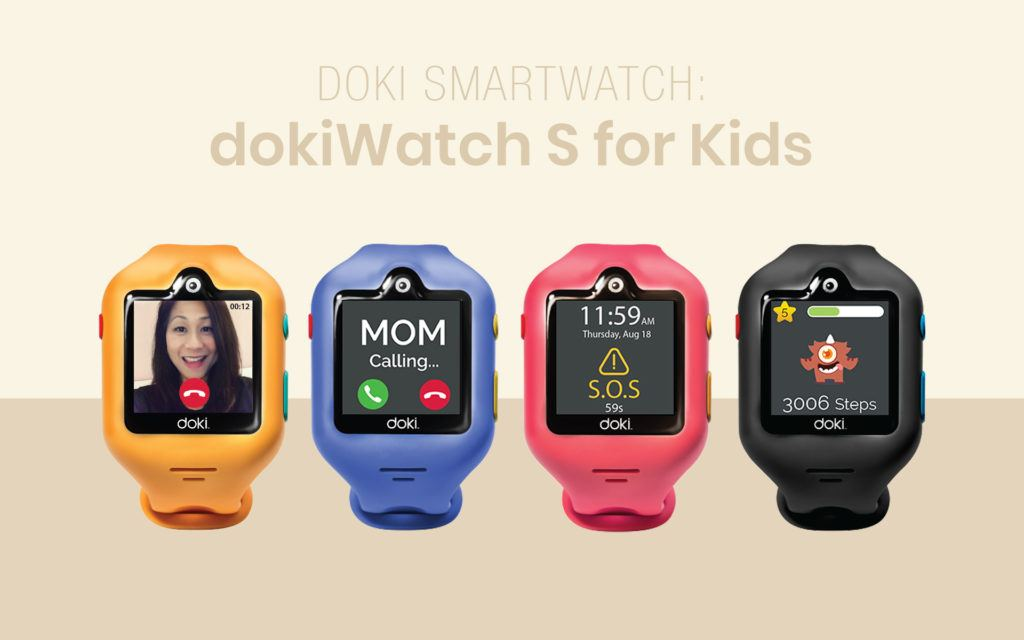 Doki Launches the dokiWatch S Kid's Smartwatch with Alexa Support