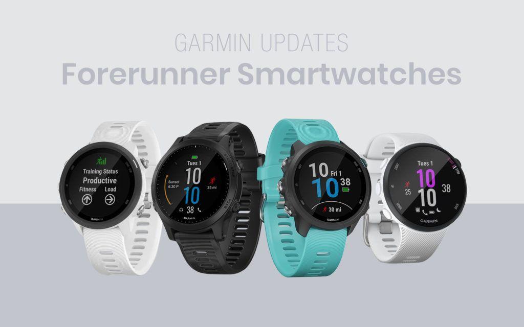 Garmin Updates Forerunner Smartwatch Line