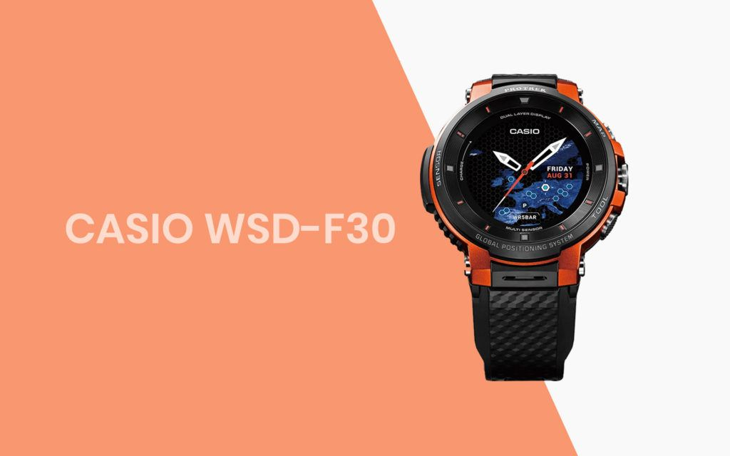Casio perfects the outdoor smartwatch with the WSD-F30