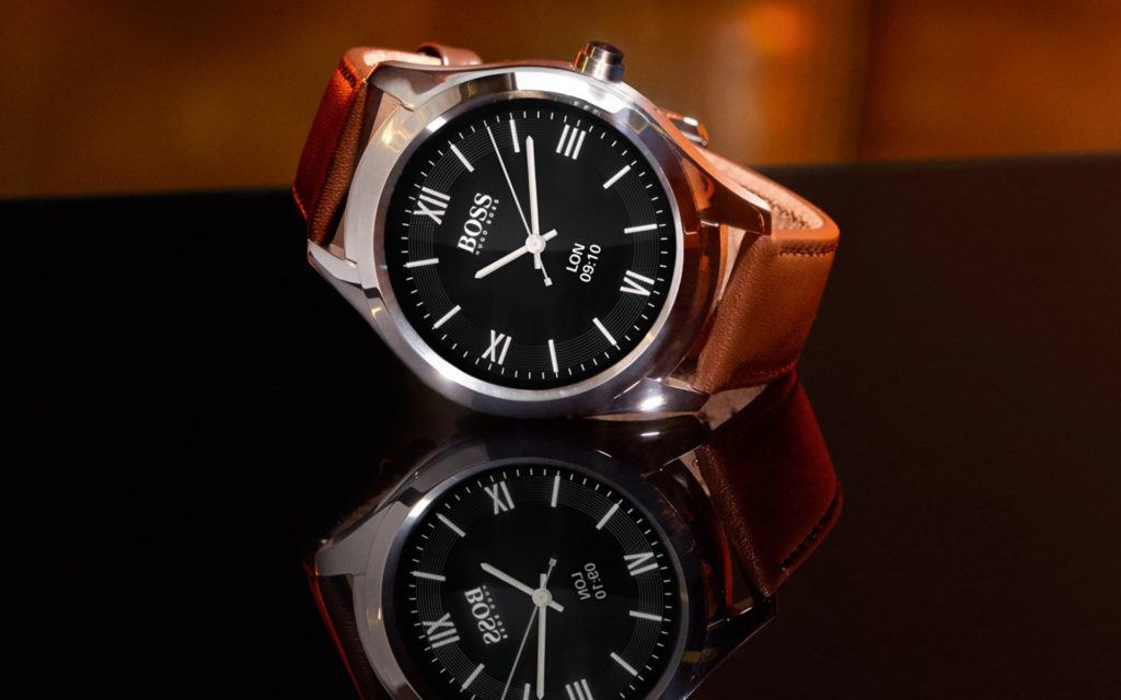 The Hugo Boss Touch is a Classy, Formal Smartwatch for Professionals