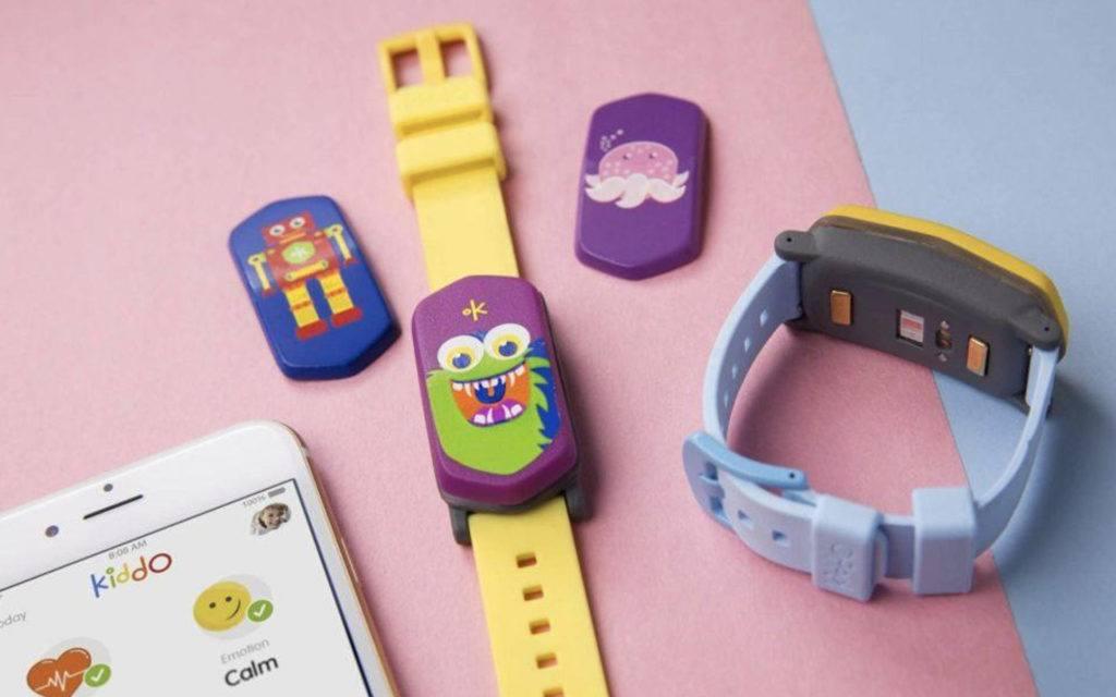 Kiddo is a Fun Kid's Wellness Tracker that Monitors Multiple Biometrics