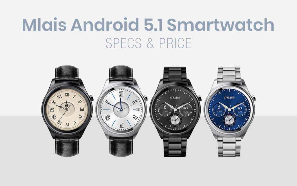 Mlais Android 5.1 Smart Watch Specs and Price