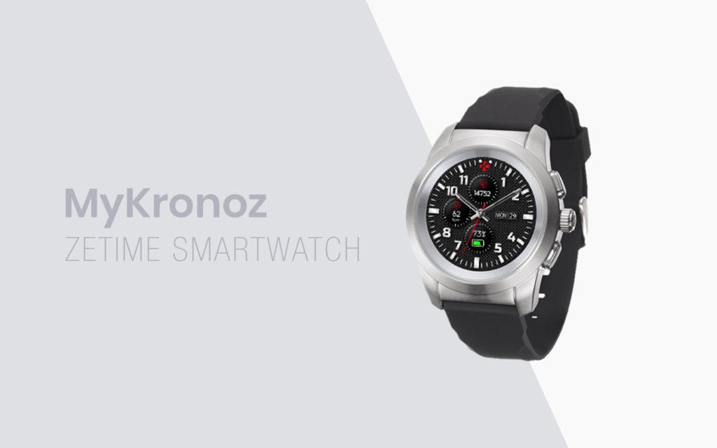MyKronoz Launches New ZeTime Smartwatch Range