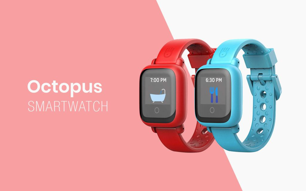 Octopus is a Smartwatch for Children