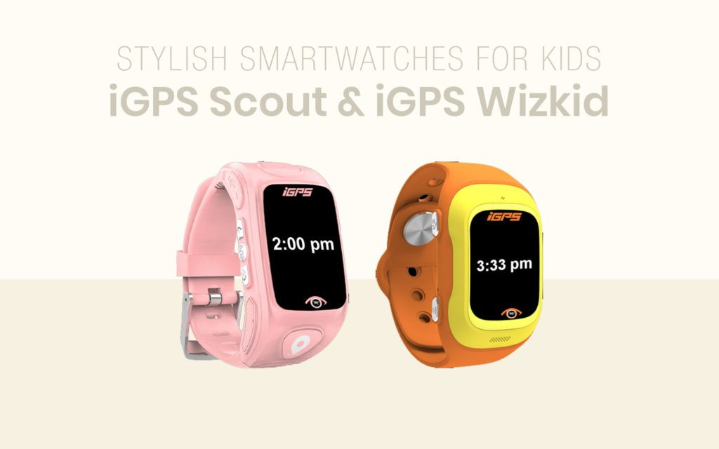 iGPS Scout and iGPS WIZKID Review: Stylish Smartwatches For Kids